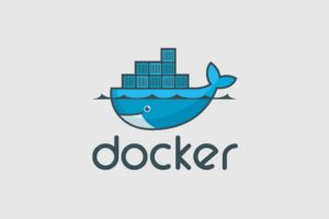 docker, Containers, Minimalism, Typography, Artwork, Simple background