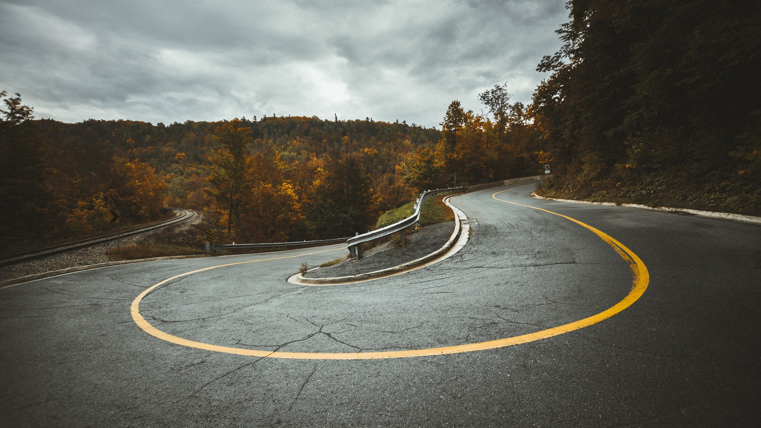 Road hairpin turns railroad track hd wallpapers desktop and mobile images photos - Track wallpaper hd ...