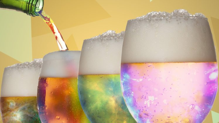 drinking glass, Beer, Colorful HD Wallpaper Desktop Background