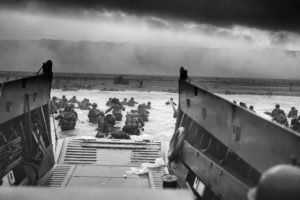 soldier, D Day, War, Monochrome, World War II, France, Normandia