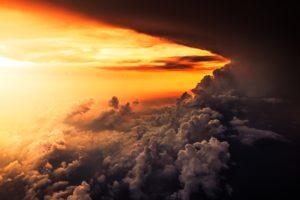 clouds, Storm