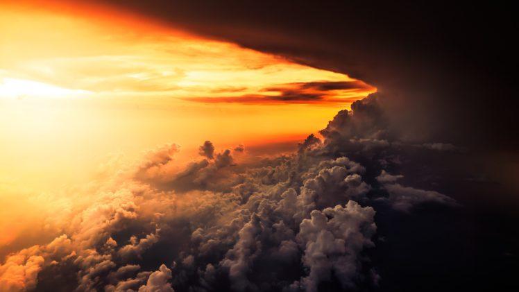 clouds, Storm HD Wallpaper Desktop Background