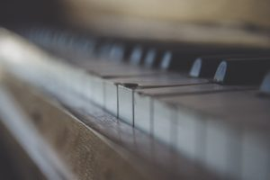 piano, Old, Broken