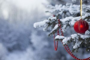 Christmas ornaments, Snow, Christmas
