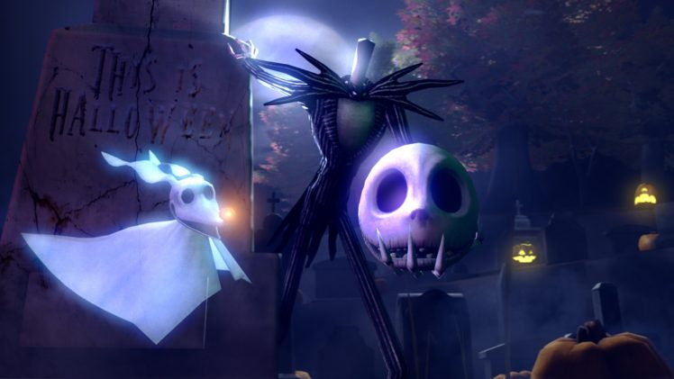 Nightmare Before Christmas Hd Wallpaper.The Nightmare Before Christmas Holiday Christmas