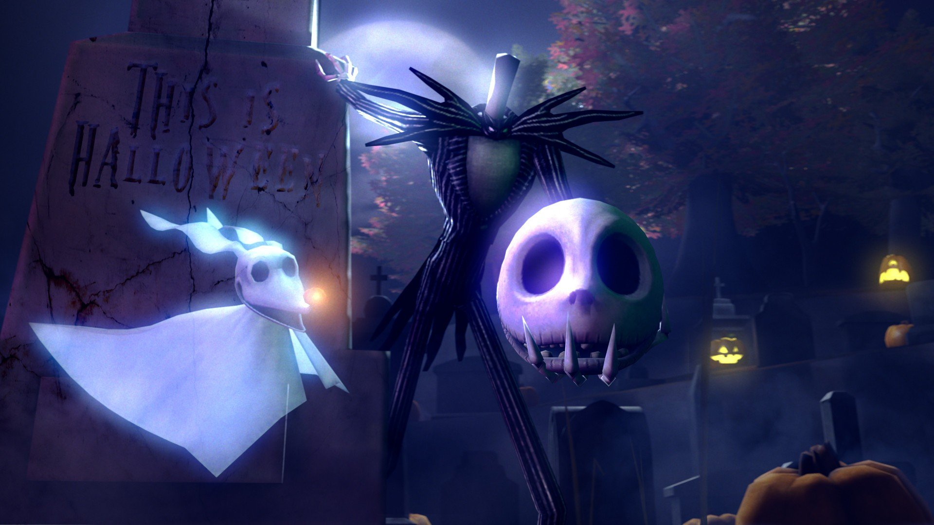 The Nightmare Before Christmas Holiday Christmas Halloween Hd