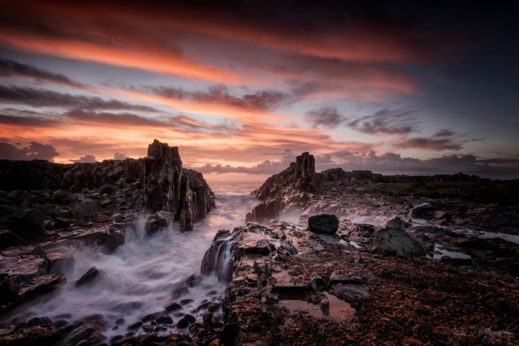 Australia, Waterfall, Nature HD Wallpaper Desktop Background