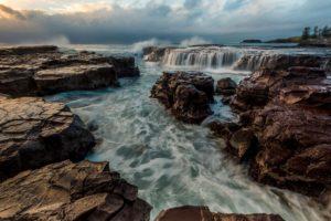 Australia, Waterfall, Nature