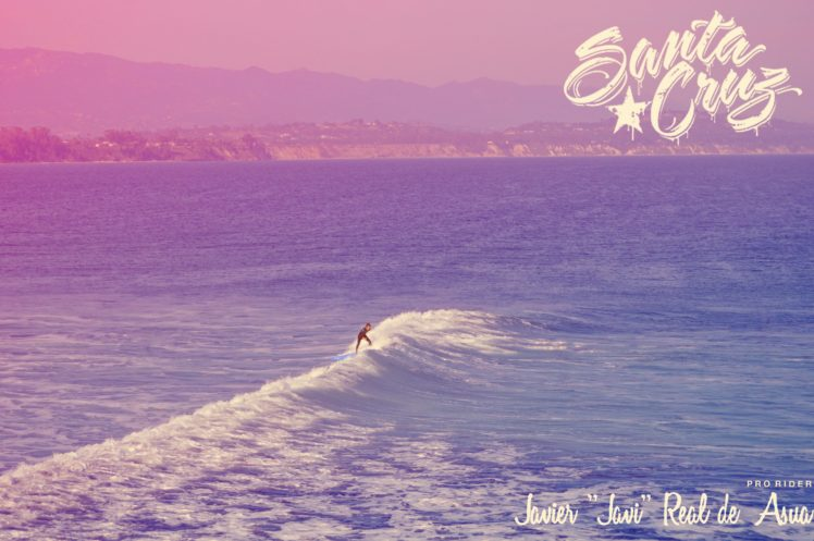 Filter Photoshop Surfing Santa Cruz California HD Wallpaper Desktop Background