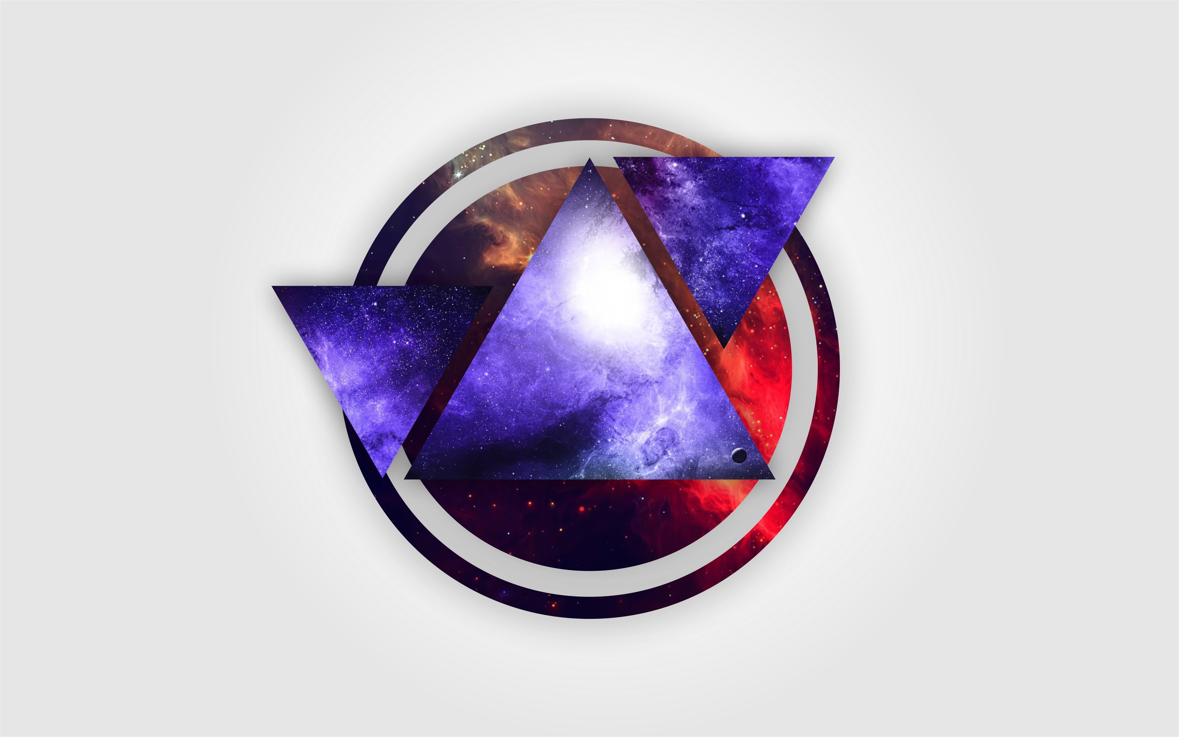 graphic simple digital vector circle background triangle hd nebula desktop wallpapers screen mobile