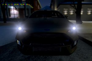 Ford, Ford Fiesta RS, Ford Fiesta, Snow, Garry&039;s Mod