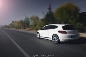 car, Scirocco, Road