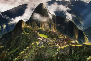 Machu Picchu, Nature, Clouds, HDR, Mountains