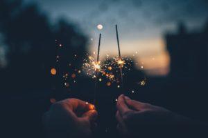 hands, Fireworks