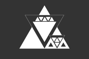 triangle, Vector, Monochrome, Minimalism, Graphic design, Digital art