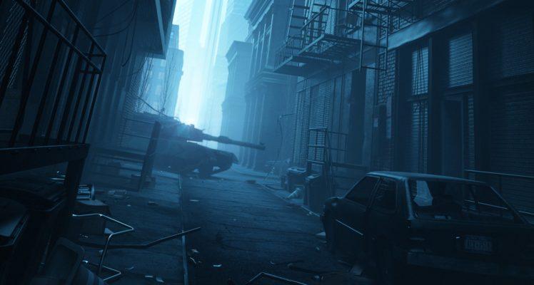 tank, Mist, Apocalyptic HD Wallpaper Desktop Background