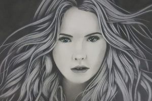 Ashley Benson, Celebrity, Women, Drawing, Artwork, Pencils, Graphite
