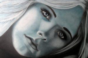 Avril Lavigne, Singer, Celebrity, Women, Drawing, Artwork, Traditional Artwork, Pencils, Charcoal, Graphite