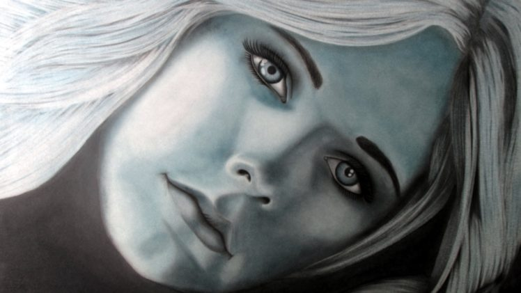 Avril Lavigne, Singer, Celebrity, Women, Drawing, Artwork, Traditional Artwork, Pencils, Charcoal, Graphite HD Wallpaper Desktop Background