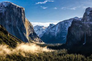 valley, Yosemite National Park, National park, USA, Nature