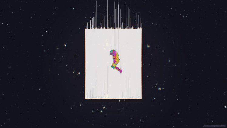 Glitch Art Abstract Digital Art Hd Wallpapers Desktop