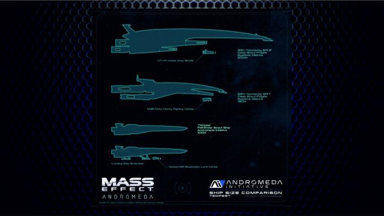 Andromeda Initiative, Mass Effect: Andromeda, Video games HD Wallpaper Desktop Background