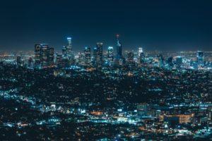 cityscape, Night, Lights
