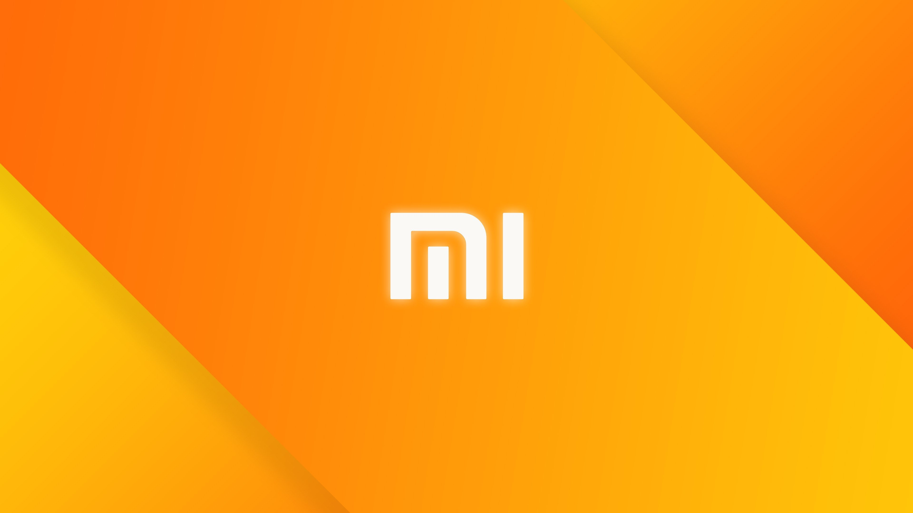 Xiaomi, Brand, Yellow, Minimalism HD Wallpapers / Desktop