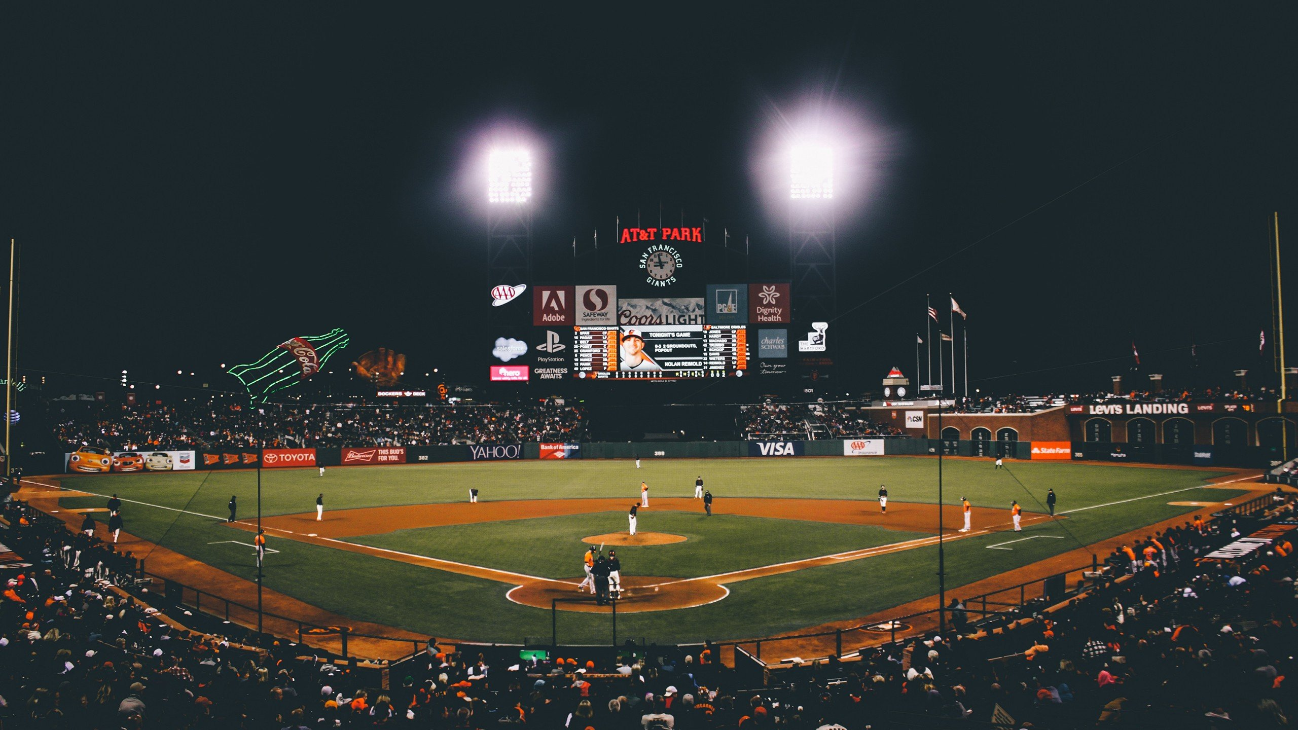 Baseball, San Francisco, San Francisco Giants, ATT Park HD