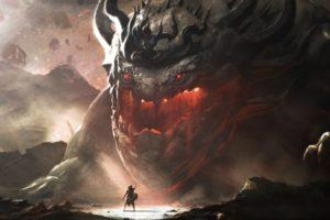 fantasy art, Giant