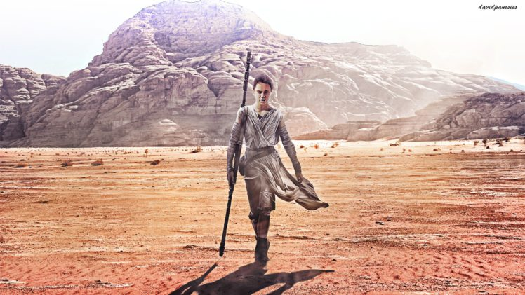 Rey From Star Wars Star Wars The Force Awakens Star Wars Fan Art Hd Wallpapers Desktop And Mobile Images Photos