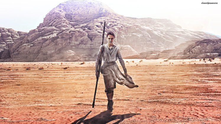 462606 Rey from Star Wars Star Wars The Force Awakens Star Wars fan art