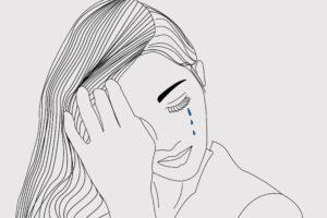 drawing, Photoshop, Sadness
