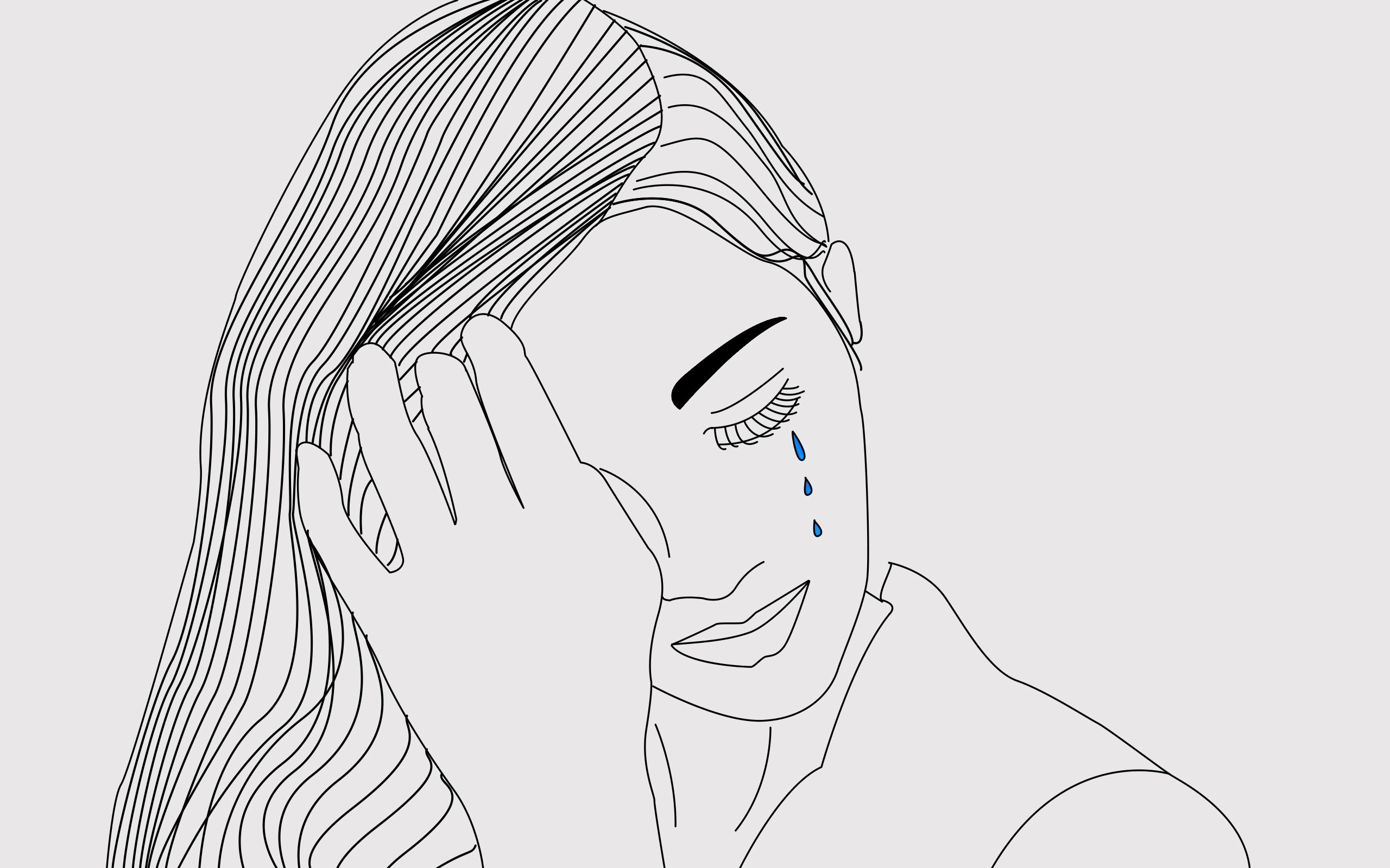 Drawing photoshop sadness hd wallpapers desktop and mobile images photos