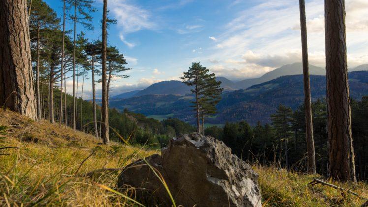 sky, Landscape, Trees HD Wallpaper Desktop Background