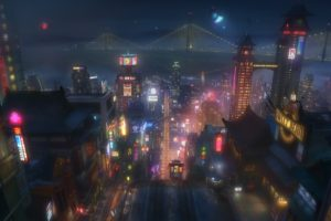 San Fransokyo, Animated movies, Cityscape