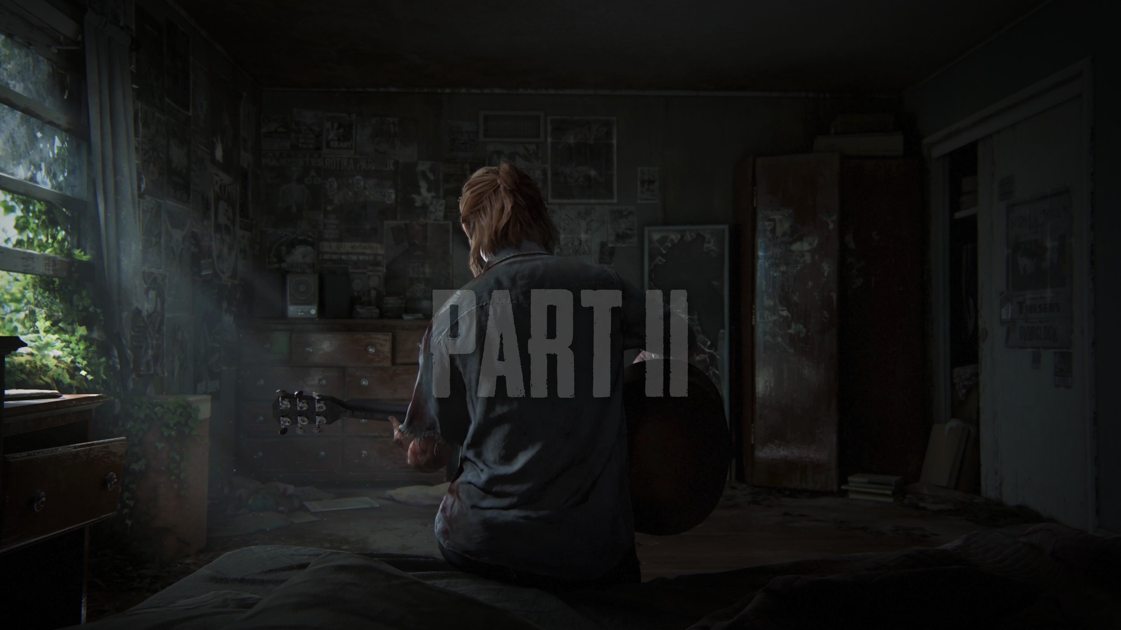 Ellie The Last Of Us Part Ii Hd Wallpapers Desktop And Mobile