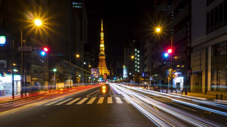 Tokyo, Street HD Wallpaper Desktop Background