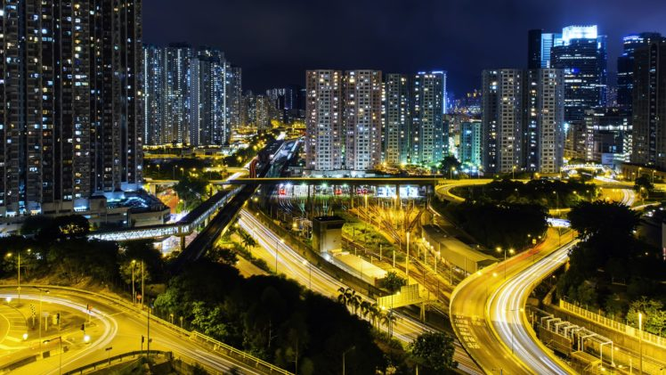 night, Cityscape HD Wallpaper Desktop Background