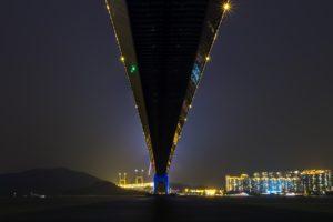 night, Bridge