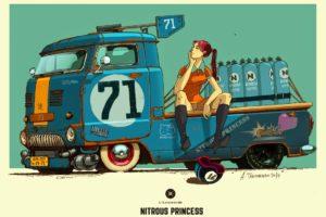 A. Tkachenko, Concept art, Car
