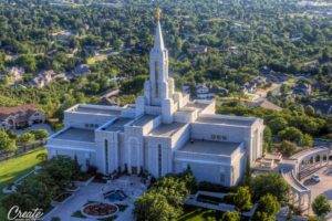 Mormon, Temple
