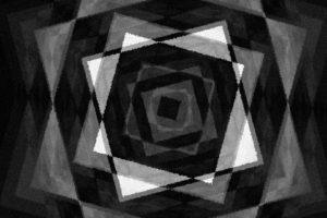 monochrome, Square
