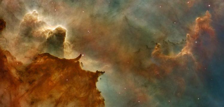 space, Galaxy, Pillars of Creation HD Wallpaper Desktop Background