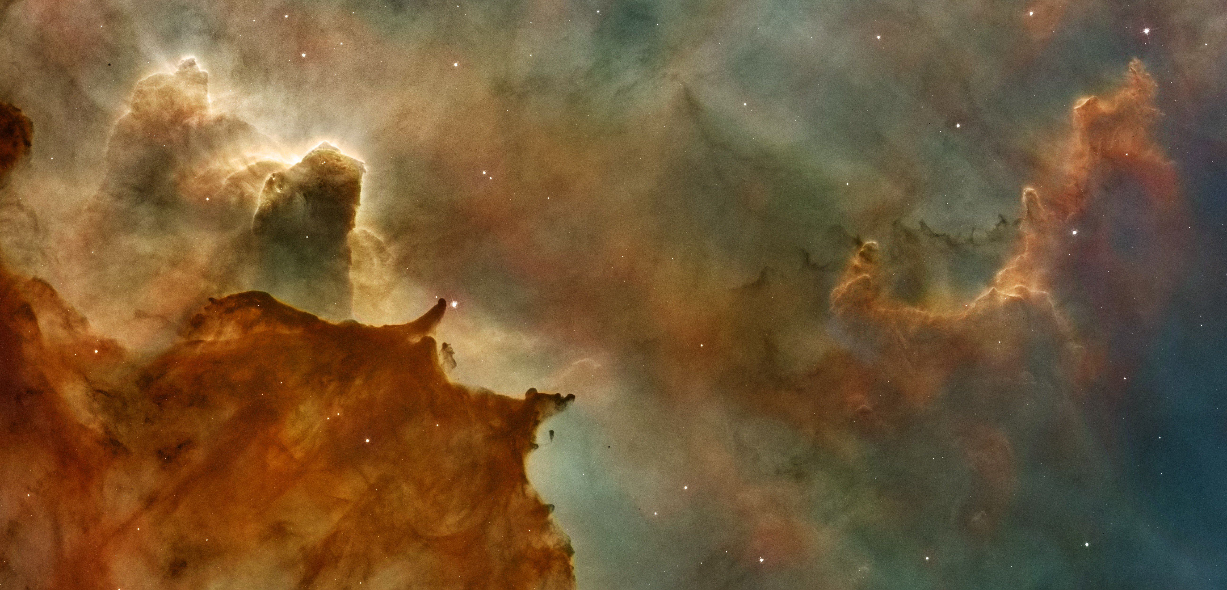 space, Galaxy, Pillars of Creation HD Wallpapers / Desktop ...