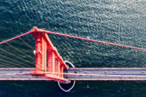 sea, Bridge, Golden Gate Bridge