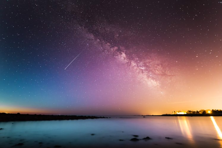 Earth, Beach, Sky, Night HD Wallpapers / Desktop and Mobile