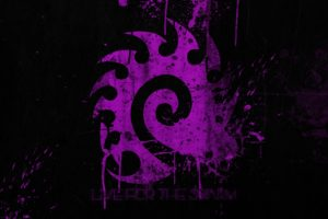 Starcraft II, Zerg, Purple, Splatter, StarCraft II : Heart Of The Swarm, Swarm