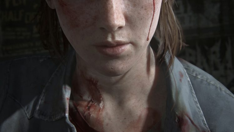 Ellie The Last Of Us Blood Hd Wallpapers Desktop And