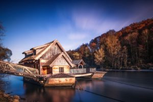 water, Landscape, Watermills